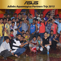 ASUS Concludes trip to Adlabs Aquamagica for top partners in Mumbai