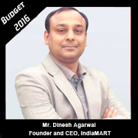 Post Budget Expectations From Mr. Dinesh Agarwal, Founder and CEO, IndiaMART